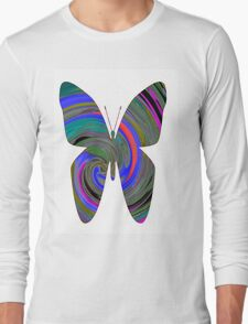 butterfly twirl Long Sleeve T-Shirt
