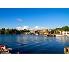 Bowness on Windermere (Toytown) Photographic Print