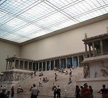 Greek altar at Pergamom Museum, Berlin by chord0