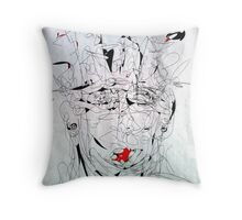 Sketch Series: Face Throw Pillow