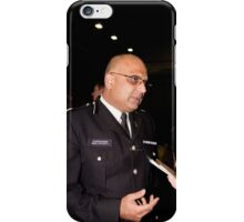 Commander Mak Chishty at Millwall Football Club iPhone Case/Skin
