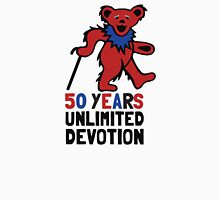 Grateful Dead 50th Anniversary - Dancing Bear - Unlimited Devotion Unisex T-Shirt