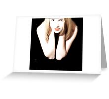 The Exotic of Portrait  Greeting Card