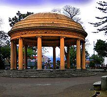 Mini Pantheon In San Jose, Costa Rica by Al Bourassa