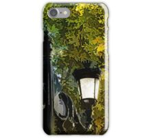 Sweet, Old-Fashioned Streetlights - Impressions of Fall iPhone Case/Skin