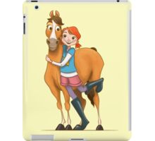 Gallop and Daisy iPad Case/Skin