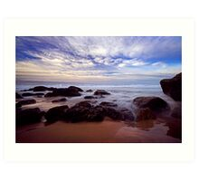 The Boiling Sea and Sky Art Print