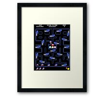 Speed Run Framed Print