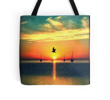 Early Morning Commuter Tote Bag