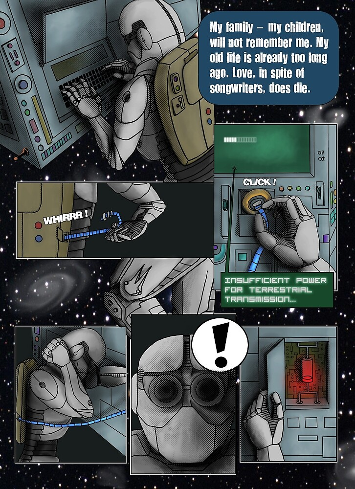Time - a comic (page 5) - with colour by Octochimp Designs