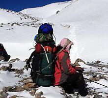 Himalayan Porter - Nepal by aidan  moran