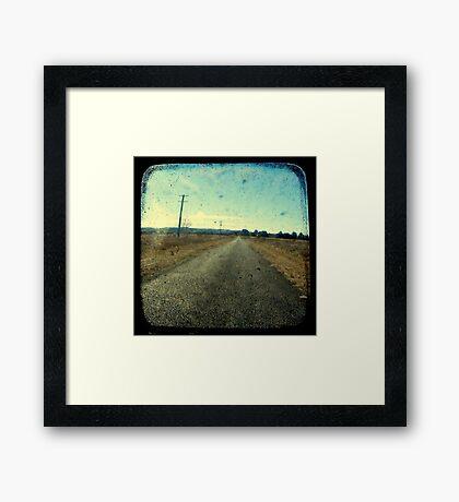 Superstition Highway Framed Print
