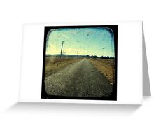 Superstition Highway Greeting Card