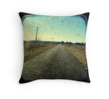 Superstition Highway Throw Pillow