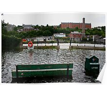 river lee in  flood Poster