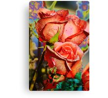 A Touch of Color Canvas Print