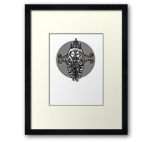 Jungle Skull Framed Print