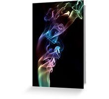Smoke Art 10 Greeting Card