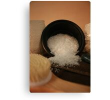 Salt Scrub  Canvas Print