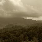 Stormy Mountain Top by Gary L   Suddath