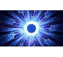Blue Agate Photographic Print