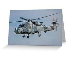 Agusta Westland Wildcat HMA.2 ZZ381 Greeting Card