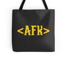AFK - Away From Keyboard Tote Bag