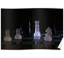 Check mate in 3 moves Poster