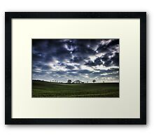 Misty Linslade Morning (Landscape HDR) Framed Print