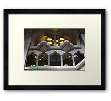 Marble And Glass Framed Print