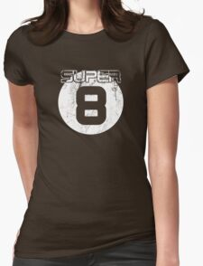 Super 8 Womens Fitted T-Shirt