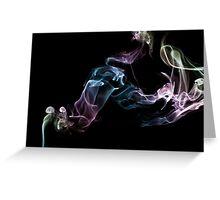 Smoke Art 13 Greeting Card