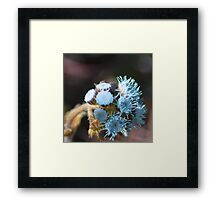 Blue Flowers | Floral Framed Print