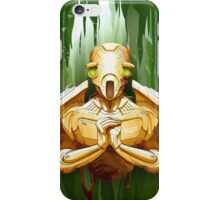 flying droid  iPhone Case/Skin