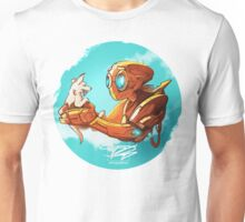 robo and puppy!  Unisex T-Shirt