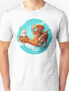 robo and puppy!  T-Shirt