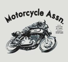 motorcycle assn. shirt by retroracing