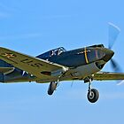 P-40B Warhawk 41-13297 G-CDWH by Colin Smedley