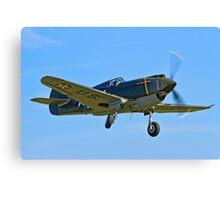 P-40B Warhawk 41-13297 G-CDWH Canvas Print