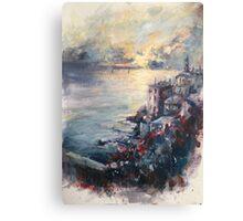 The Ligurian coast (Italy) Canvas Print