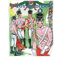 Boy Toy Soldiers Poster