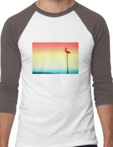Pelican Gradient Men's Baseball ¾ T-Shirt