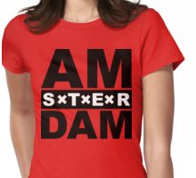 Baby went to Amsterdam Womens Fitted T-Shirt