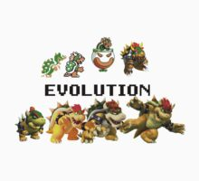 The Evolution of Bowser Kids Clothes
