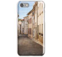 Empty Street of La Redorte iPhone Case/Skin