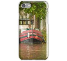 The Red Boat iPhone Case/Skin