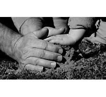 A Helping Hand Photographic Print