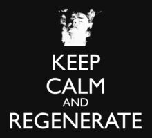 Dr Who - Keep Calm And Regenerate Kids Clothes