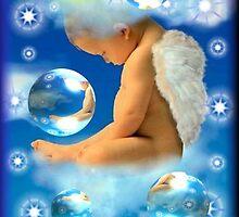Sleeping Baby Angel by Ruth Kauffman