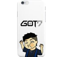 Jackson Wang Got7 funny face iPhone Case/Skin